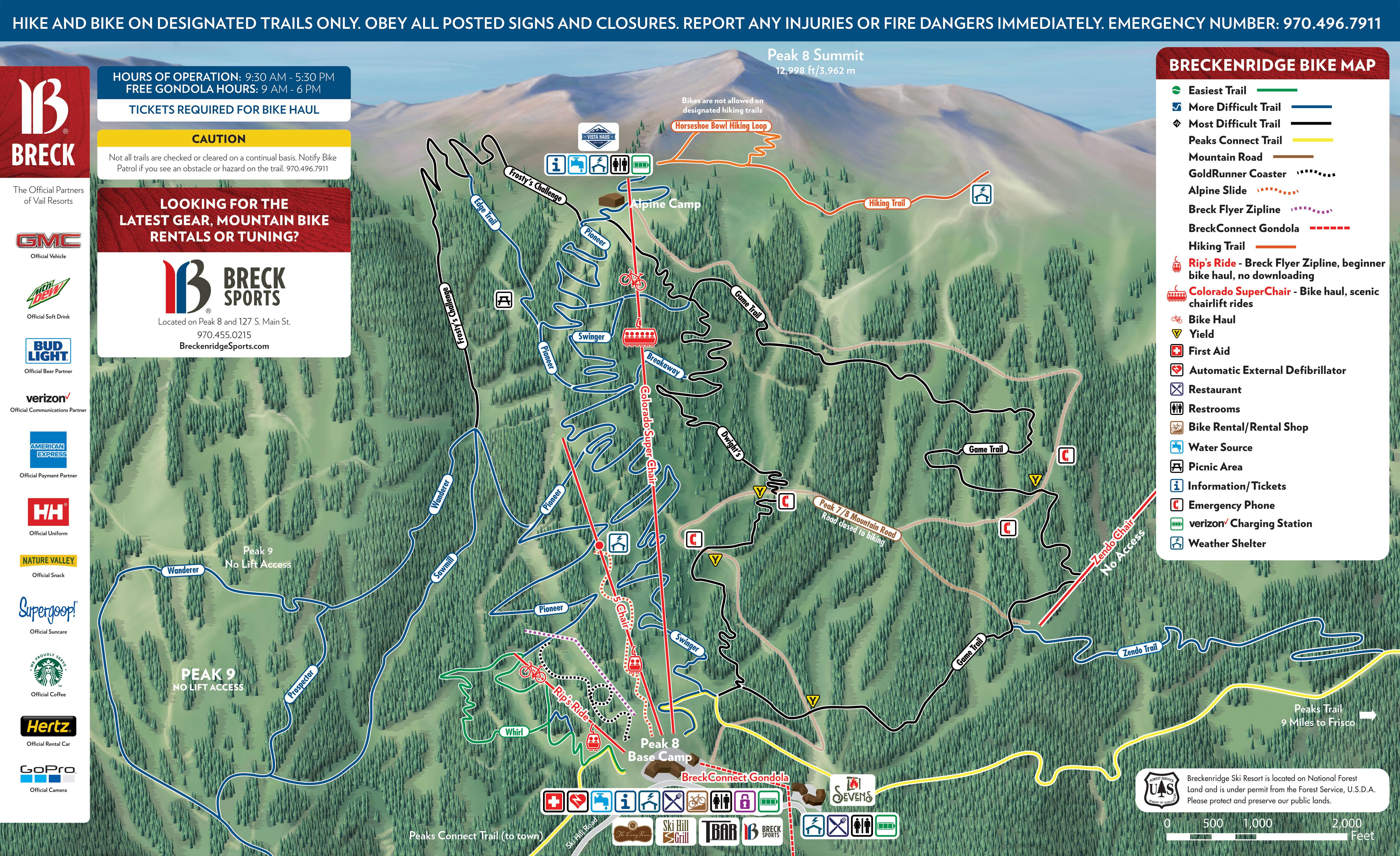 Trail Map | Breckenridge Resort
